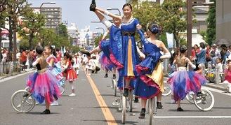 昨年のパレード
