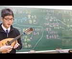 動画で音楽知識を解説する吉澤教諭