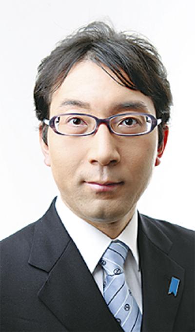 山本光宏さん立候補を表明