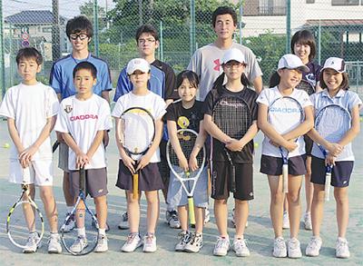 テニス好き集合