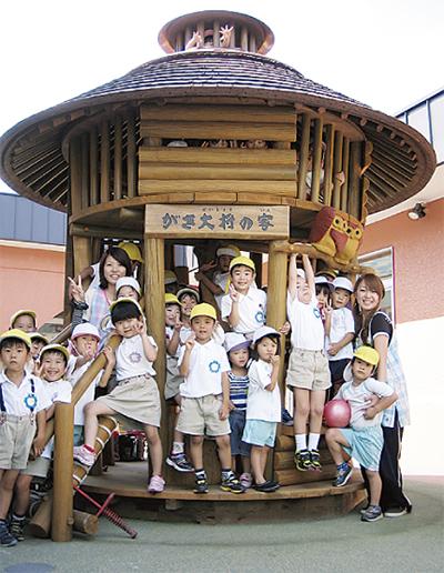 のびのび育つ幼稚園