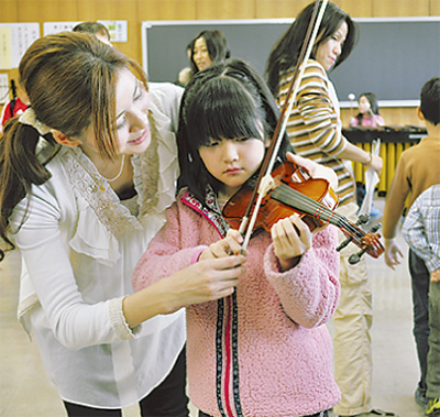 楽器の魅力を探検