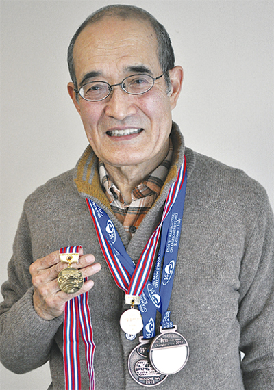 800mで優勝