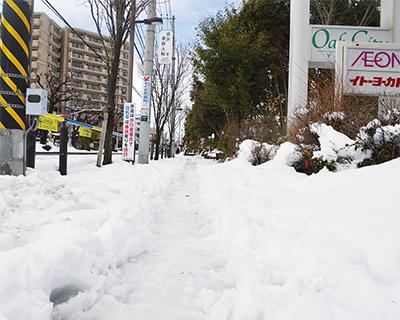 2週連続の大雪