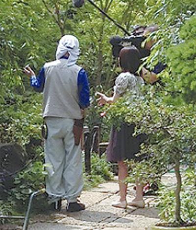花のお寺常泉寺NHKで紹介