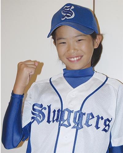 少女軟式野球の県代表に