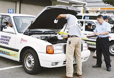 会社の車の事故防ごう