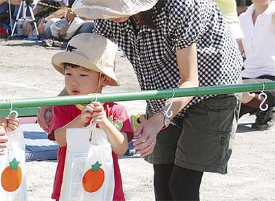 スミレ幼稚園で運動会