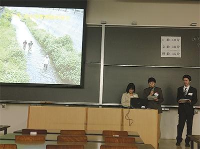 昆虫学会で発表