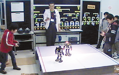 ロボットで対戦しよう