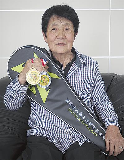 台湾の世界大会でメダル