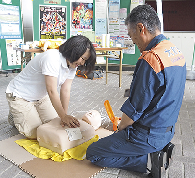 「AEDをもっと知って」