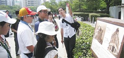 広島で「平和」学ぶ