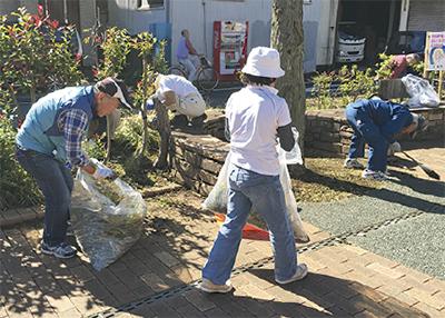 会員がボランティア清掃