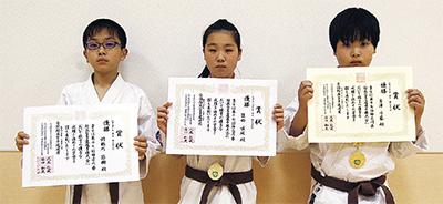 市内3選手が県制覇