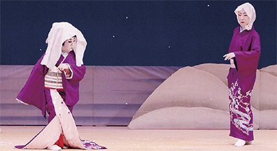 花翠流の舞踊発表会