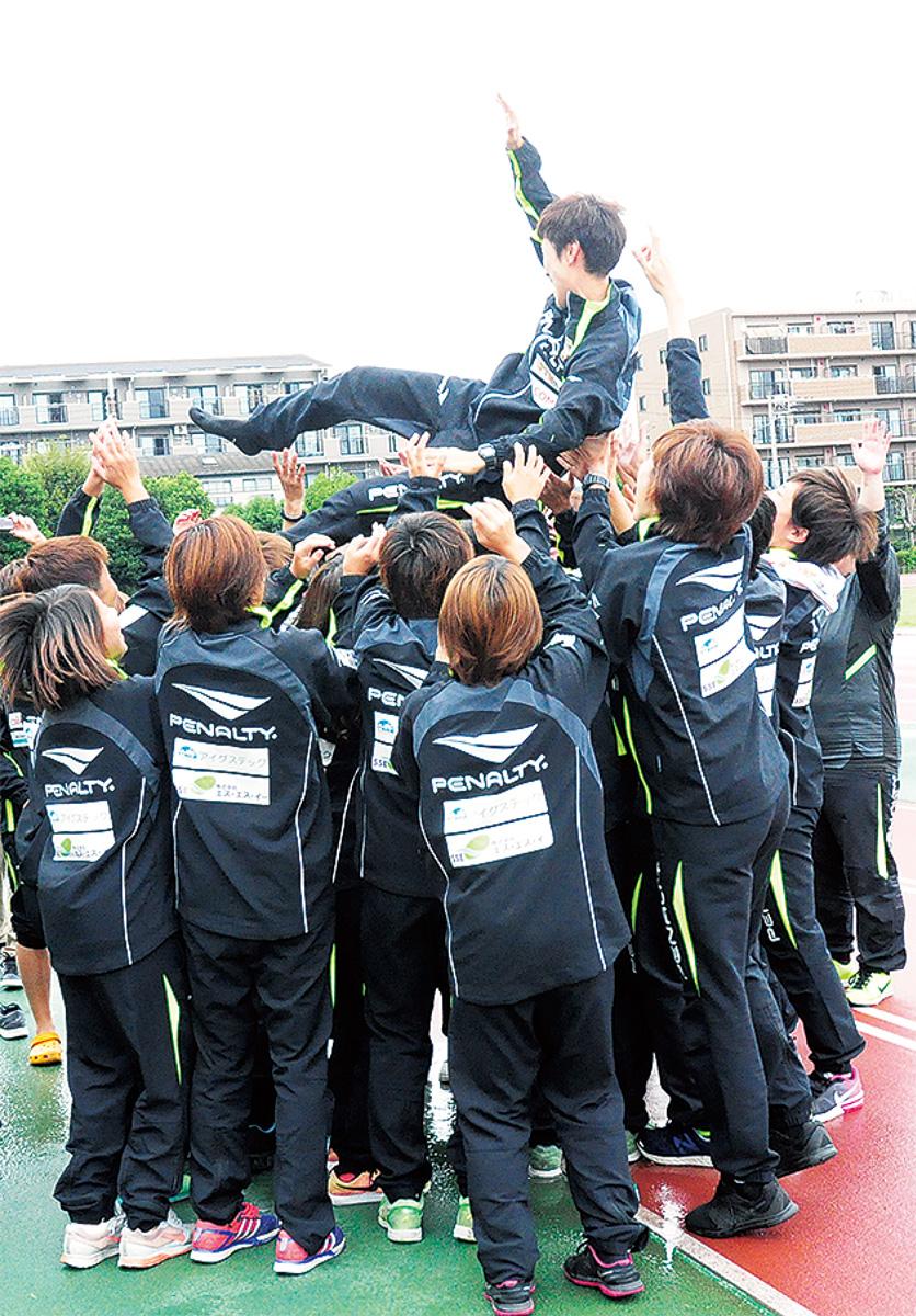 3年越し、CL(チャレンジリーグ)初優勝