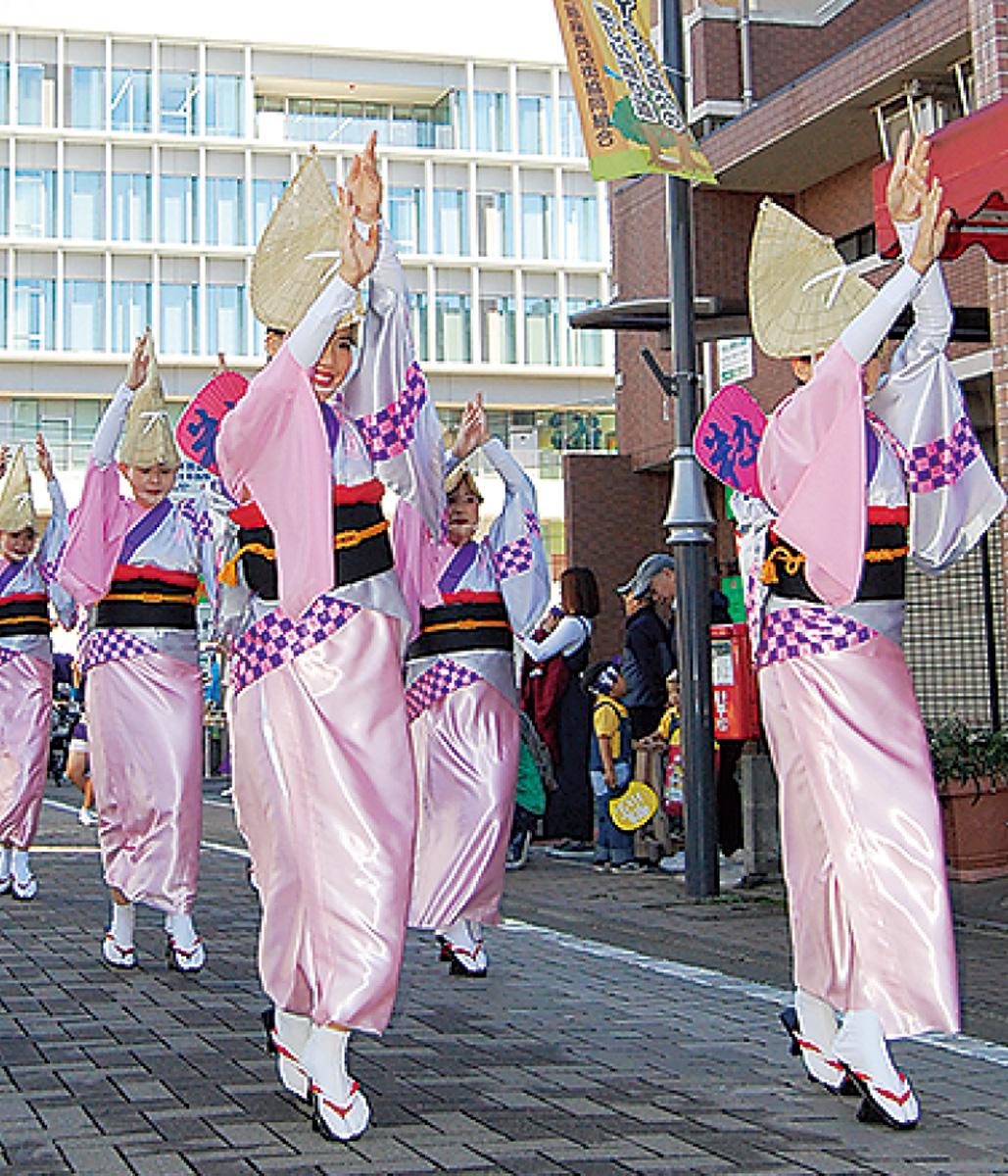 周年祝う阿波踊り