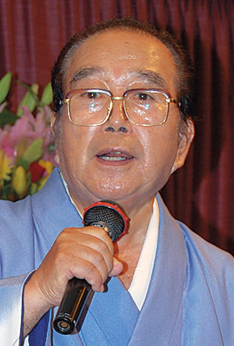 中村元議長が死去