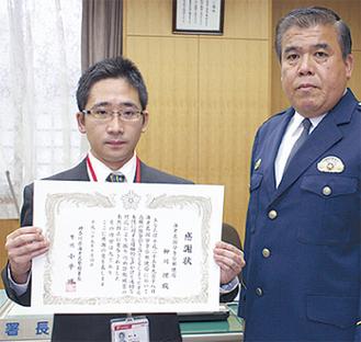 柳川理さん(写真左)