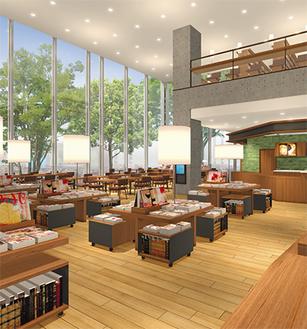 中央図書館のイメージ図