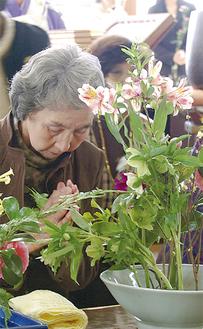海源寺では「花供養」も