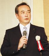 長田氏が出馬を表明