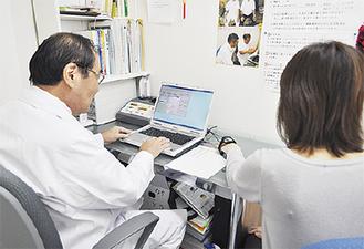 経絡測定で症状を調べる