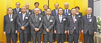 発会式に参加したメンバー