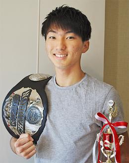 高校チャンピオンの西京さん