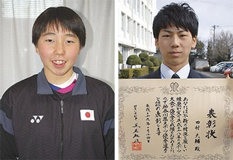 田村さん(右)と郡司さん(左)