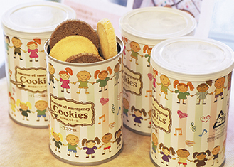 開発された備蓄保存クッキー