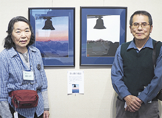 展示会を企画した尾崎さん夫妻