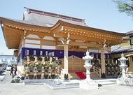 増全寺の本堂が完成