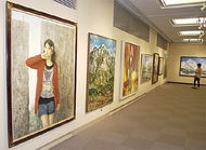 美協会員の展示会