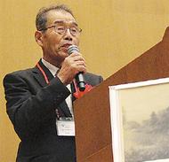 相模川左岸の理事長講演