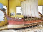 アルファ企画の高い技術が結集した「ガレー船」