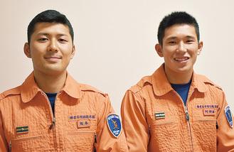 坂本さん(左)と阿部さん