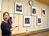 コーヒー店で写真展