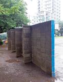類似ブロック塀、撤去へ