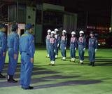 消防団関係者ら80人が集まり、激励会が行われた