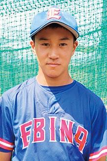 海老名リトルシニアに所属する松井颯大選手