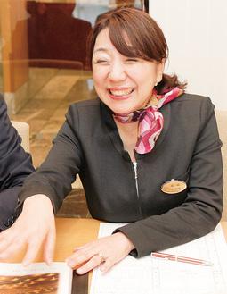 新郎新婦の心に寄り添う尾崎さん