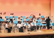 市民吹奏楽団の演奏会