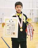 小学生バド全国大会で2連覇