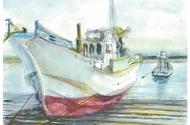 銀ゆり会の水彩画展
