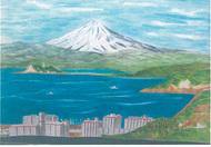水彩画が50点展示