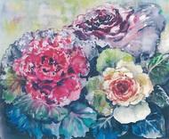 小島久美子さんの水彩画展