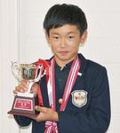優勝した山崎咲寿さん