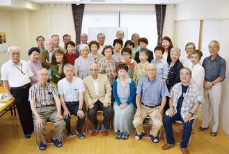 海老名市川柳協会の立ち上げに尽力したメンバー